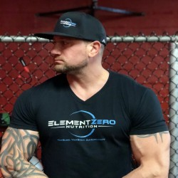 ElementZero V-Neck T-Shirt Black